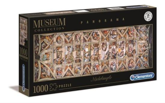 Clementoni Puzzle 1000el panorama Sufit kaplicy sykstyńskiej 39498 p6 (39498 CLEMENTONI)