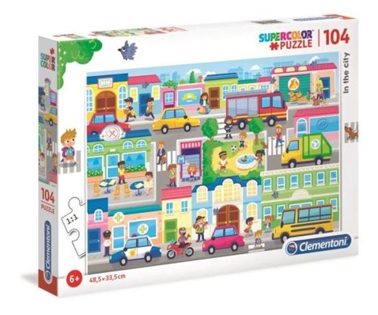 Clementoni Puzzle 104el W mieście  27114 p6 (27114 CLEMENTONI)
