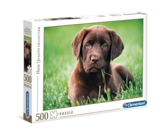Clementoni Puzzle 500el Chocolate puppy 35072 (35072 CLEMENTONI)