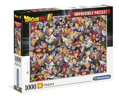 Clementoni Puzzle 1000el Impossible Dragon Ball 39489 p6 (39489 CLEMENTONI)