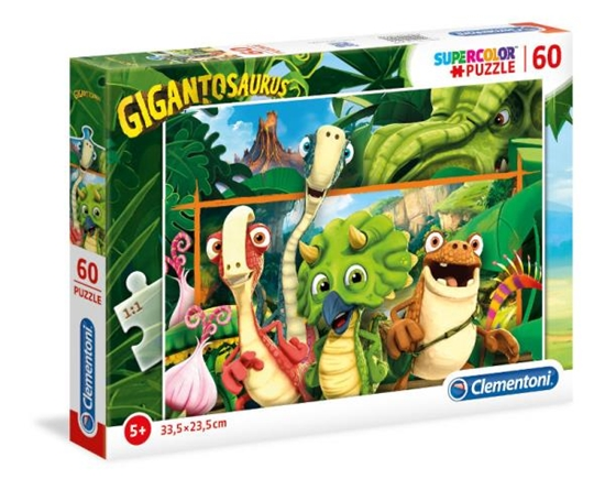 Clementoni Puzzle 60el Gigantozaury 26996 (26996 CLEMENTONI)