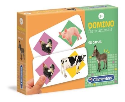 Clementoni Domino Zwierzęta na farmie 18069 (18069 CLEMENTONI)