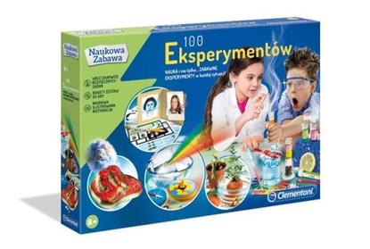 Clementoni 100 eksperymentów 50522 p6, cena za 1szt. (50522 CLEMENTONI)