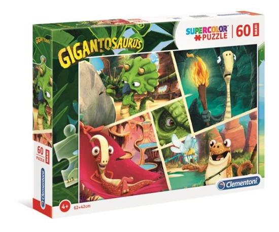 Clementoni Puzzle 60el Maxi Gigantosaurus 26457 (26457 CLEMENTONI)