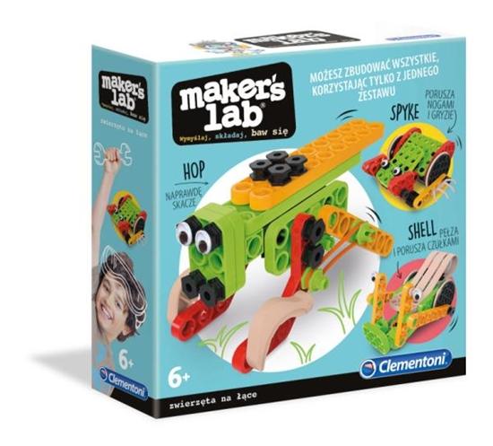 Clementoni Maker's lab Owady zwierzęta na łące 50660 (50660 CLEMENTONI)