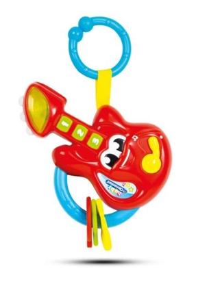Clementoni Baby Grzechotka gitara p6 17230 cena za 1szt. (17230 CLEMENTONI)