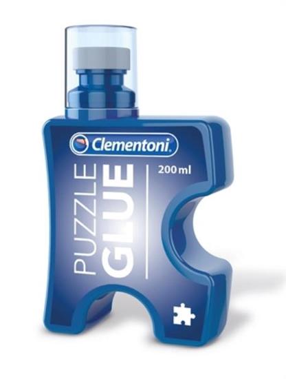 Clementoni Klej do puzzli 37000 p12, cena za 1szt. (37000 CLEMENTONI)