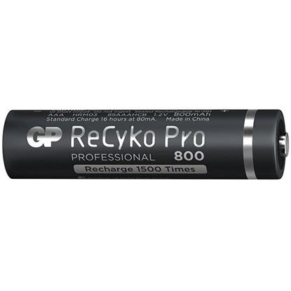 2 x akumulatorki AAA / R03 GP ReCyko Pro Ni-MH 800mAh