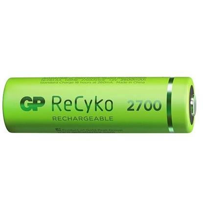 4 x akumulatorki AA / R6 GP ReCyko 2700 Series Ni-MH 2600mAh