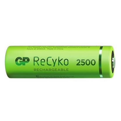 4 x akumulatorki AA / R6 GP ReCyko 2500 Series Ni-MH 2450mAh