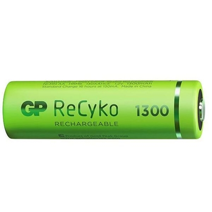 4 x akumulatorki AA / R6 GP ReCyko 1300 Series Ni-MH 1300mAh