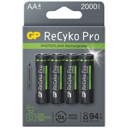 4 x akumulatorki AA / R6 GP ReCyko Pro PhotoFlash Ni-MH 2000mAh