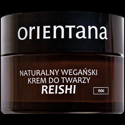 Orientana Wegański krem do twarzy REISHI na noc 50ml