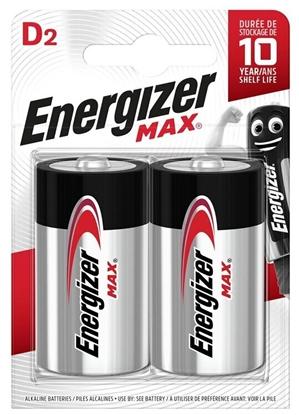 2 x bateria alkaliczna Energizer MAX LR20/D (blister)
