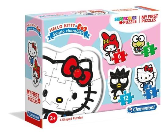 Clementoni Moje Pierwsze Puzzle 3-6-9-12 Hello Kitty 20818 (20818 CLEMENTONI)