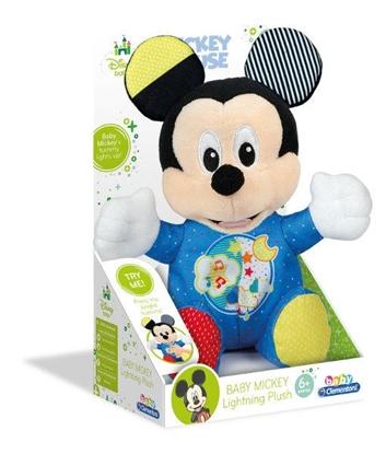 Clementoni Baby Mickey Świecący pluszak 17206 p6, cena za 1szt. (17206 CLEMENTONI)