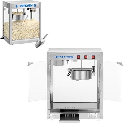 Barowe urządzenie maszyna do robienia popcornu 230V 1350W