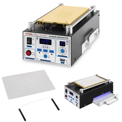 Podgrzewacz separator serwisowy do naprawy ekranów LCD do 8 cali Stamos Soldering S-LS-23