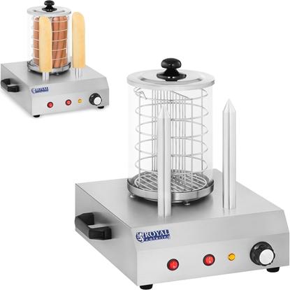 Podgrzewacz urządzenie do 30 hot dogów parówek 2 bułek Royal Catering RCHW-350-2