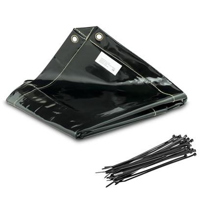 Ekran kurtyna zasłona spawalnicza 239x175cm Stamos SWS01