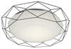 Plafon szary LED 24W 4000K efekt gwiezdnego nieba Sven candellux 98-73228