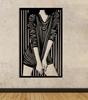 Dekoracja ścienna - kobieta