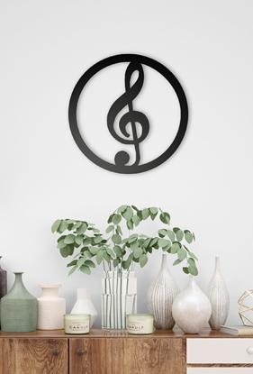 Dekoracja music -Klucz