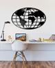 Dekoracja Ścienna - Mapa Świata