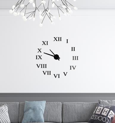 Nowoczesny Zegar Ścienny - Rzymski