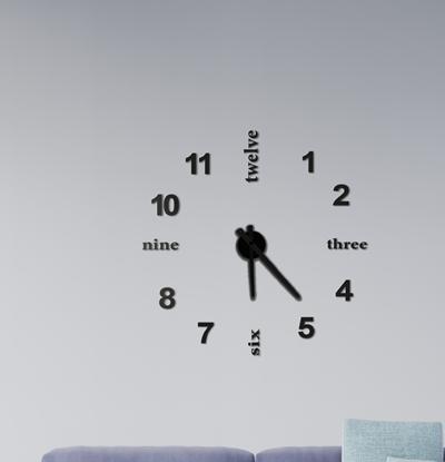 Nowoczesny Zegar Ścienny - New Style