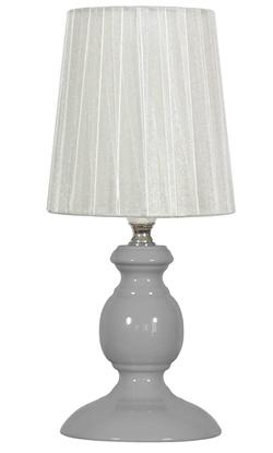Lampka stołowa nocna biała E14 40W Alette Candellux 41-64097
