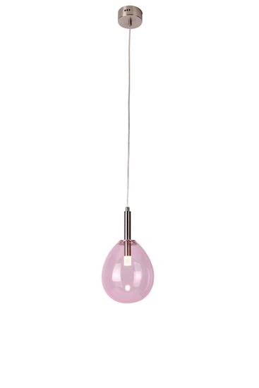 Lampa Wisząca Lukka LEDEA 50133209 LED 6W Szkło Różowy