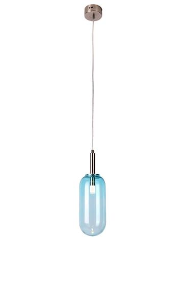 Lampa Wisząca Fiuggi LEDEA 50133213 LED 6W Szkło Niebieski