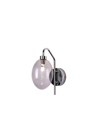 Kinkiet Lukka LEDEA 50401225 G9 10W Szkło Metalizowane Szkło
