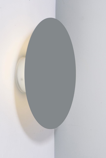 Kinkiet Holar 250 mm LEDEA 50433250 LED 6W Metal Szary