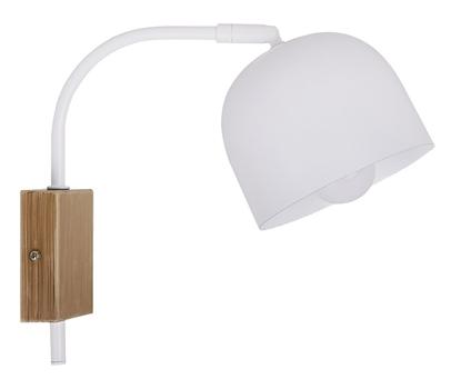 Kinkiet biały lampa ścienna 40W E27 regulowany Rupi Candellux 21-75482