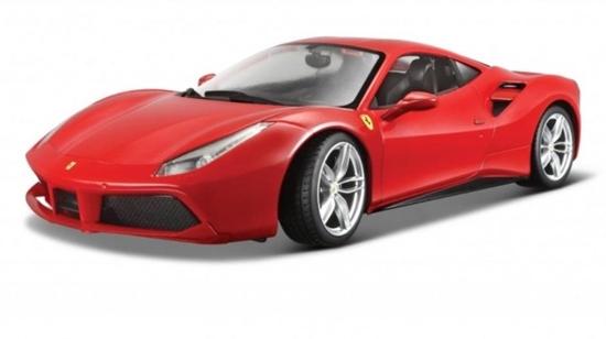 Bburago 1:18 16008 Ferrari 488 GTB czerwone
