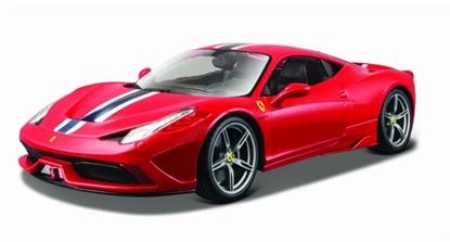 Bburago 1:18 16002 Ferrari 458 Speciale  czerwony