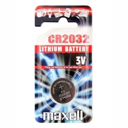 1 x bateria litowa Maxell CR2032 3V (blister)