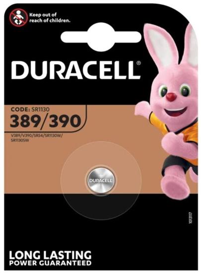bateria srebrowa mini Duracell 389-390/G10/SR1130W
