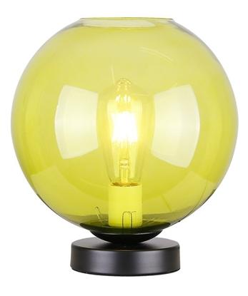 Lampka gabinetowa nocna zielone szkło 60W E27 Globe Candellux 41-78292