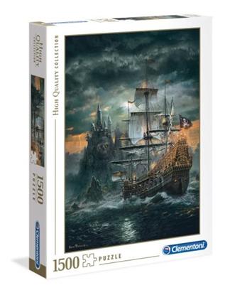 Clementoni Puzzle 1500el Statek piracki 31682 p6, cena za 1szt. (31682 CLEMENTONI)
