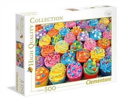 500 elementów Kolorowe babeczki (GXP-632030)