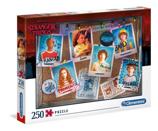 Puzzle 250 elementów Stranger Things (GXP-766296)