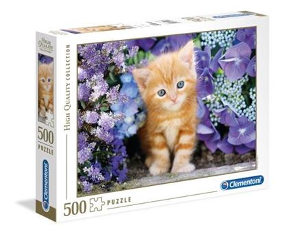Clemantoni Puzzle 500el. Kot (30415 CLEMENTONI)