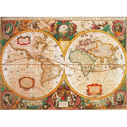 CLEMENTONI 1000 EL. Anty czna Mapa (31229)