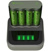 Ładowarka akumulatorków Ni-MH R03/R6 GP ReCyko M451 + stacja dokująca D451 + 4 x AA/R6 GP ReCyko 2700 Series 2600mAh