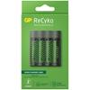 Ładowarka akumulatorków Ni-MH R03/R6 GP ReCyko M451 + 4 x AA/R6 GP ReCyko 2700 Series 2600mAh