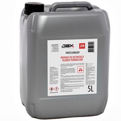 Środek płyn bakteriobójczy i grzybobójczy do mebli blatów i urządzeń gastronomicznych JAX 29 5L
