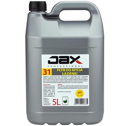 Płyn środek profesjonalny do mycia łazienki i armatury sanitarnej bez smug i osadów z mydła JAX 31 5L